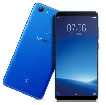 Vivo V7 rear slanting