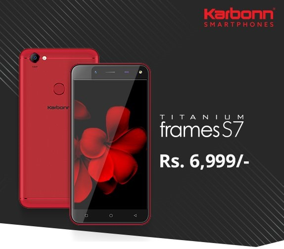 Karbonn and Shopclues partners to launch Titanium Frames S7 for Rs 6999