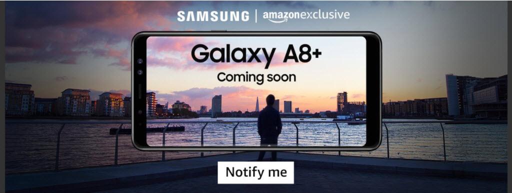 Samsung Galaxy A8+ Amazon