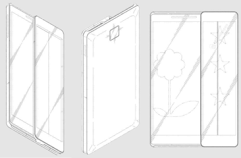 Samsung retractable smartphone