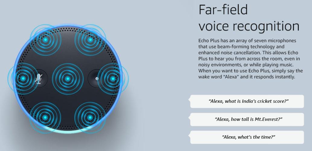 Amazon Echo Plus noise