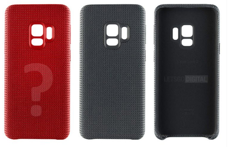 Samsung Galaxy S9 Hyperknit back covers
