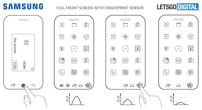 Samsung Galaxy full screen 1
