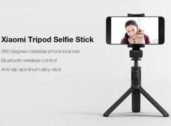 Xiaomi Selfie Stick Bluetooth Remote Shutter Tripod Holder