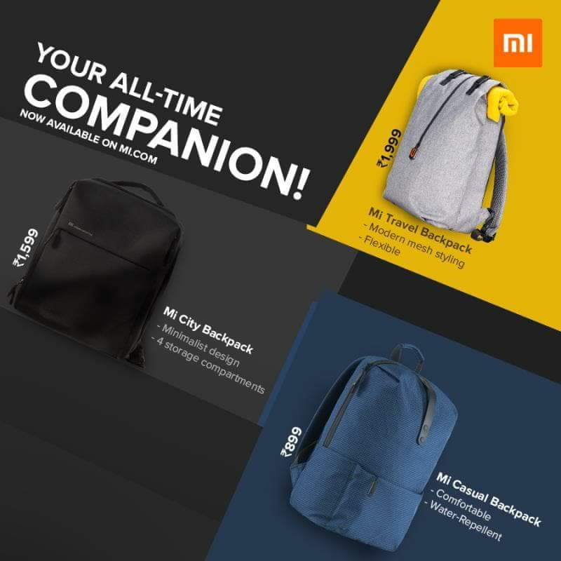 Mi Travel Backpack