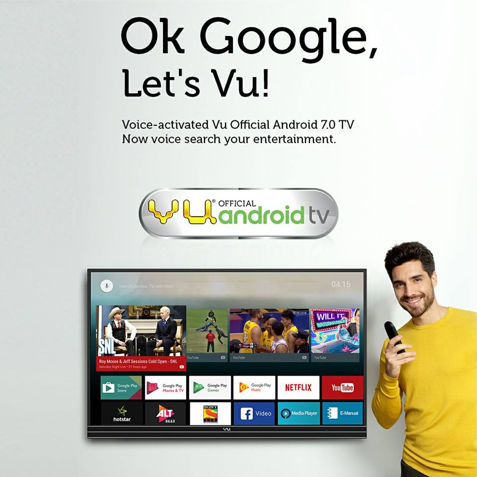 Vu launches Android Smart 4K LED TVs, CEO attacks Xiaomi