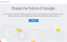 Google User Experience Research Program