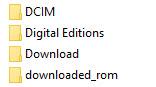 MIUI download folder