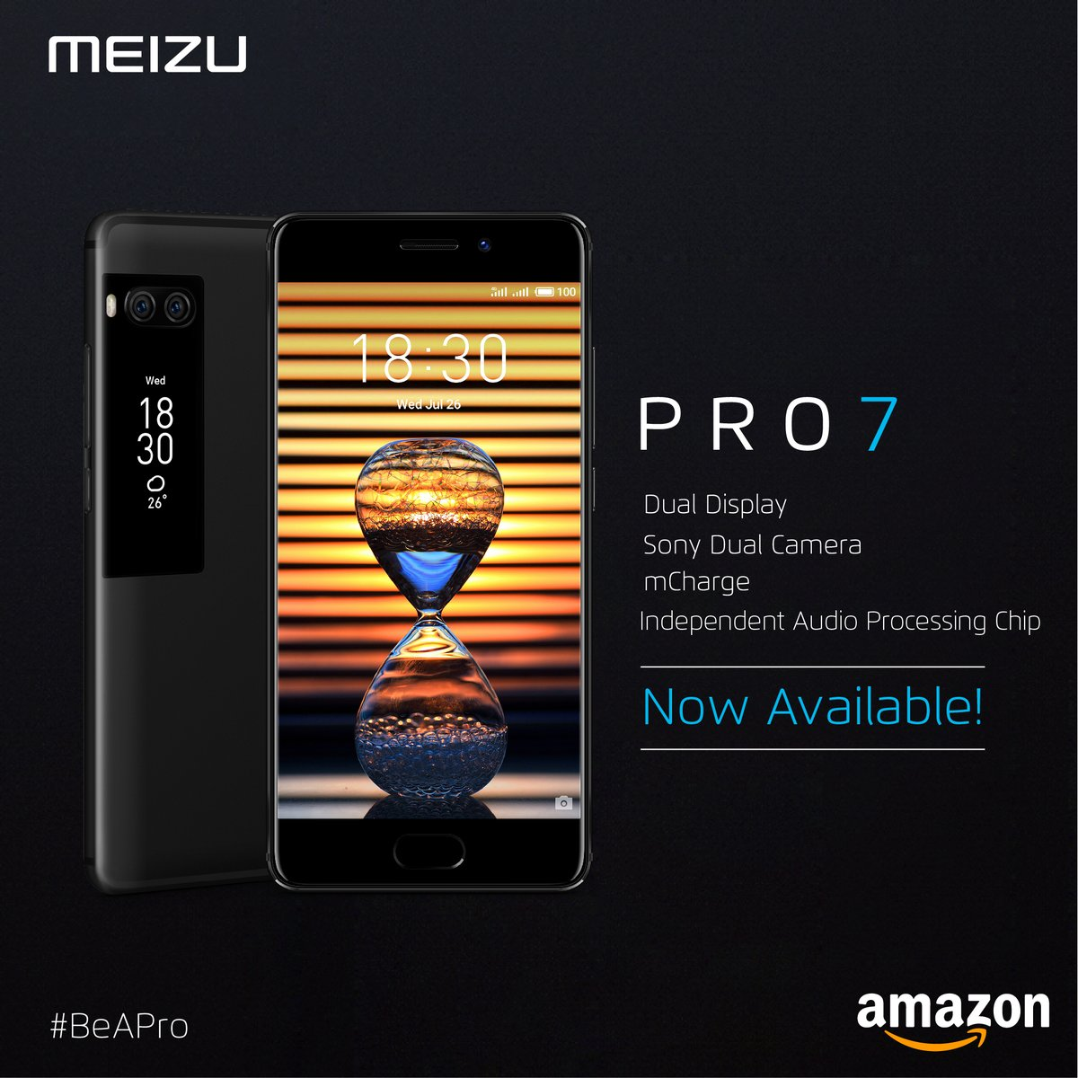 Dual screen smartphone Meizu Pro 7 launched in India at Rs 22999