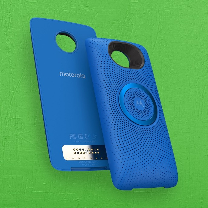 Motorola launches stereo speaker Moto Mod for $59.99