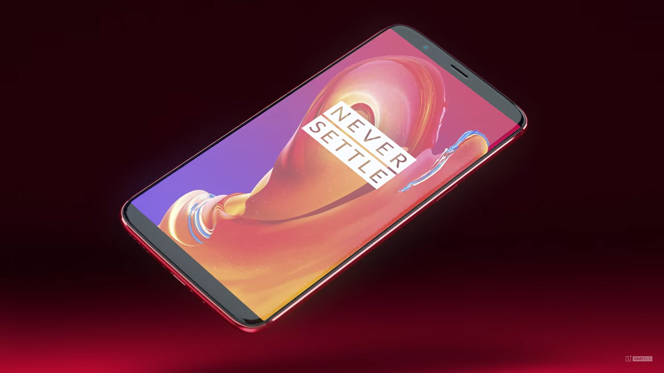 The flagship OnePlus 6 will receive a glass case