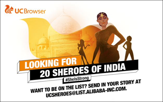 UC Browser 20 Sheroes