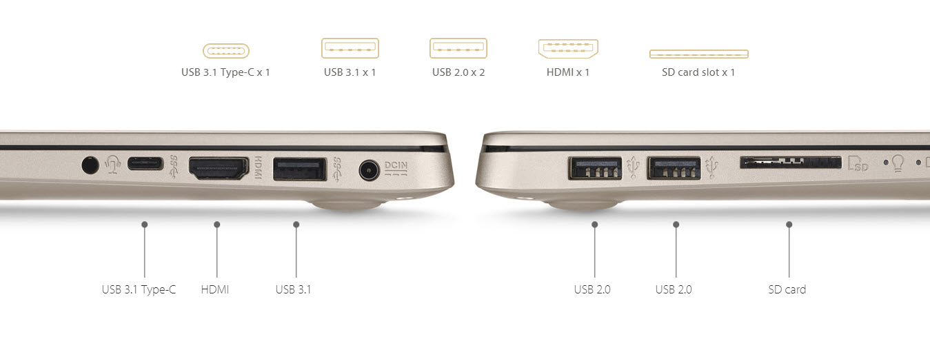 Asus VivoBook S Fast Charging