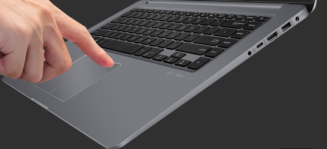 Asus VivoBook S fingerprint sensor