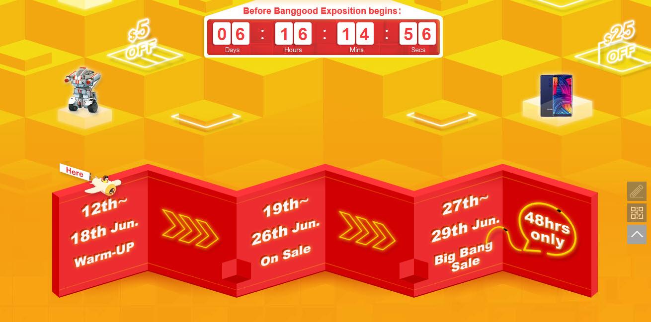 Banggood Mid Year Sale