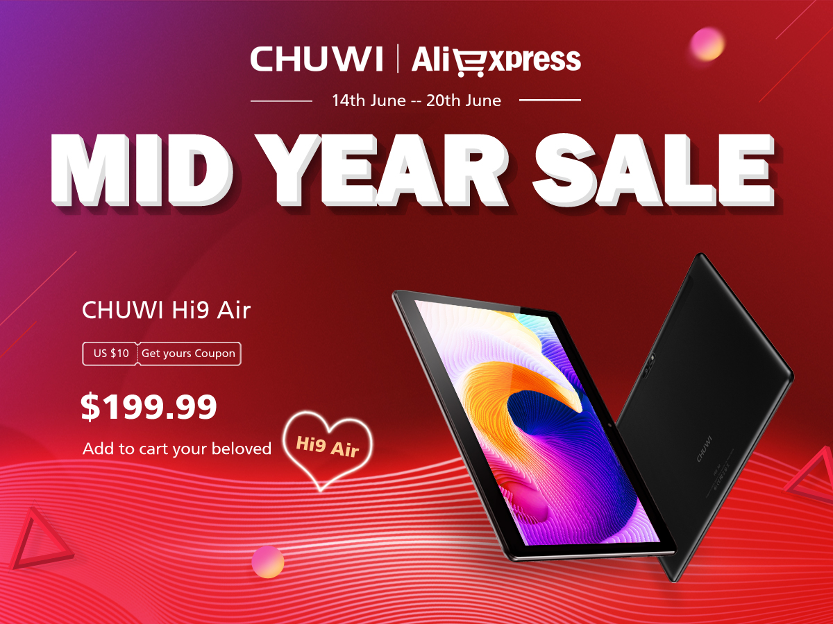 Mid-year Android Oreo sale on aliexpress