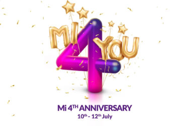 Mi 4th Anniversary Sale