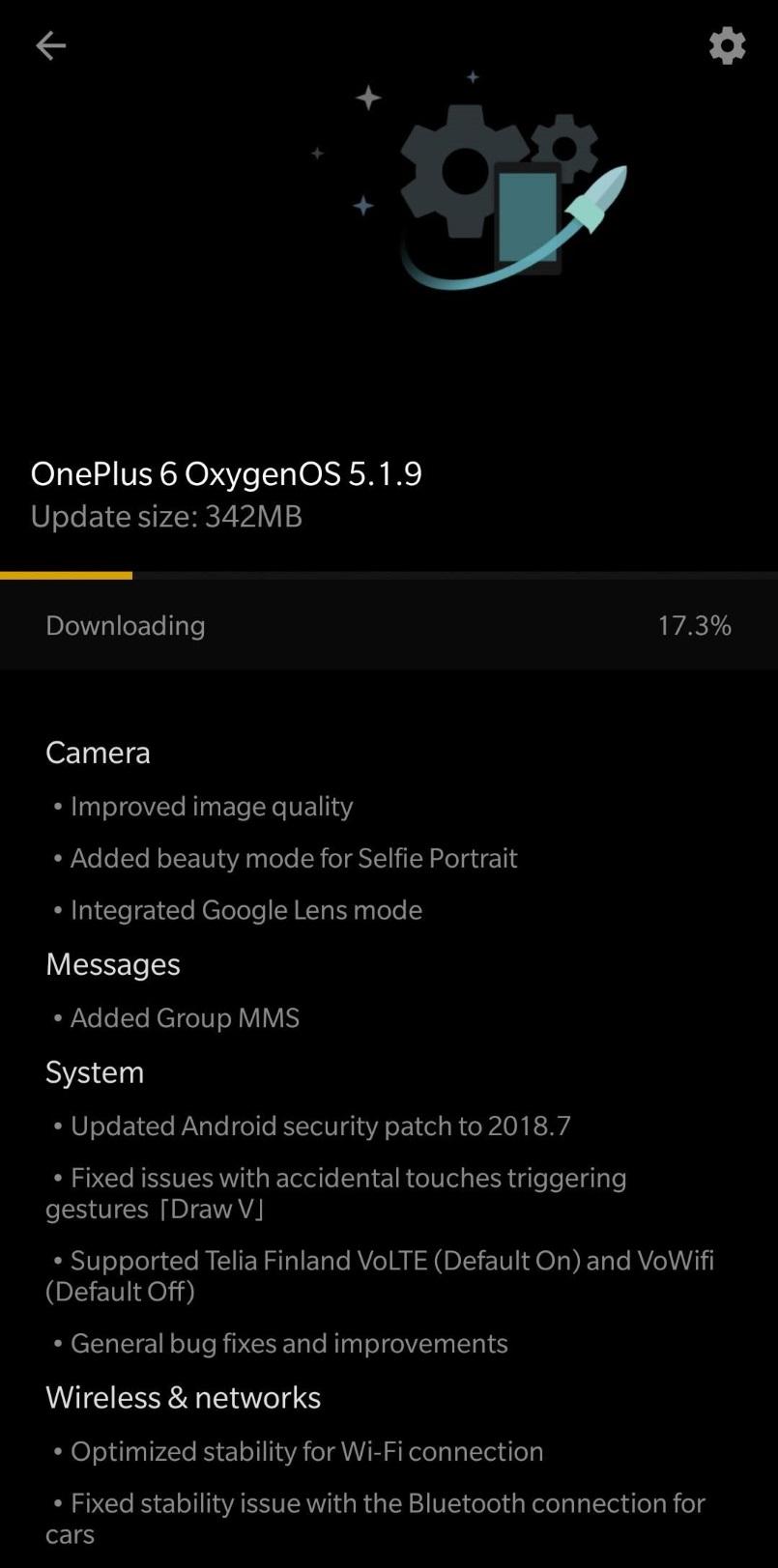 OxygenOS 5.1.9