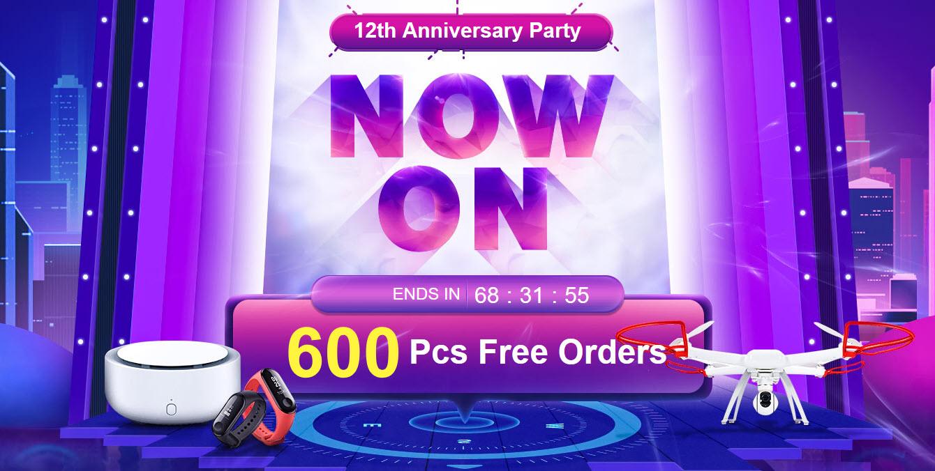 Banggood 12th Anniversary Party