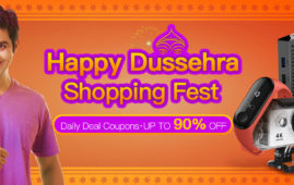 Banggood Happy Dussehra Shopping Fest