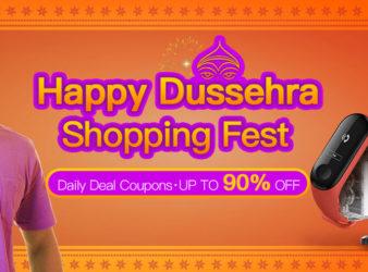 Banggood Happy Dussehra Shopping Fest