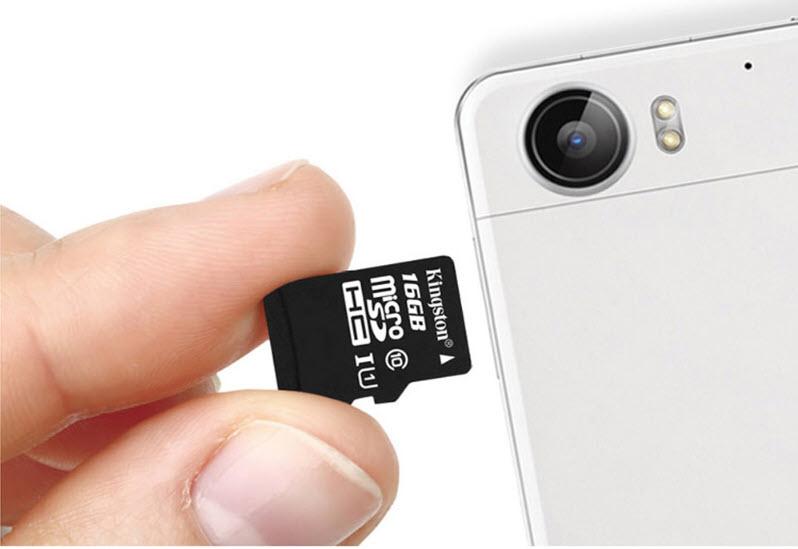 32GB Kingston MicroSDHC