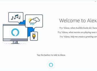Amazon Alexa Windows