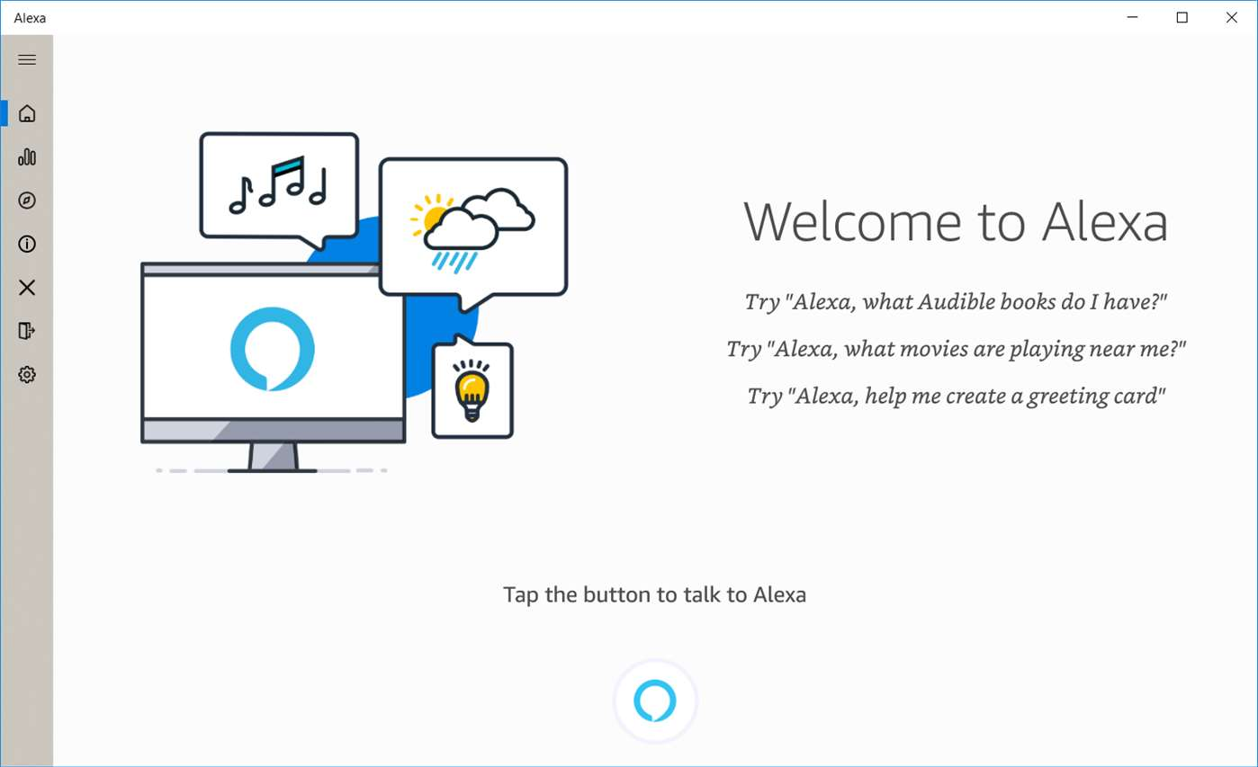 Amazon Alexa Windows