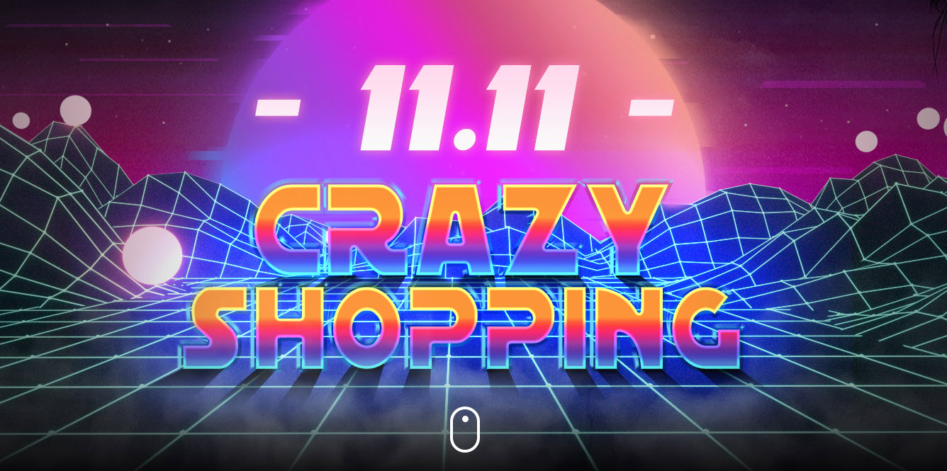 Banggood 11.11 Crazy Shopping