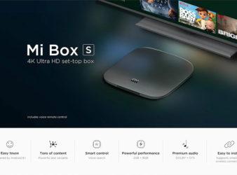 Mi Box S TV Box