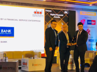 Federal Bank - Recieves Blockchain Award 2018