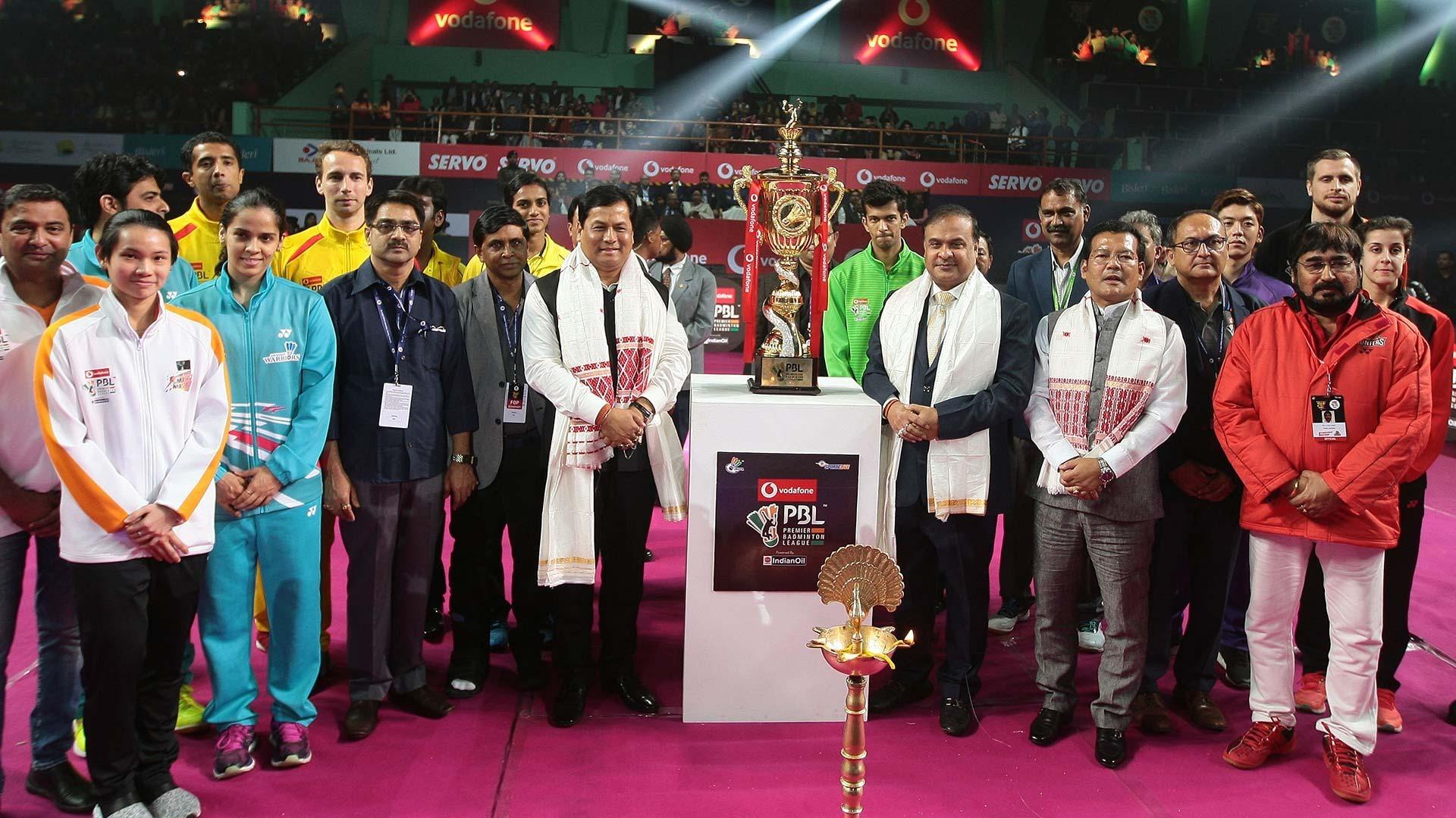 Vodafone Premier Badminton League 2018