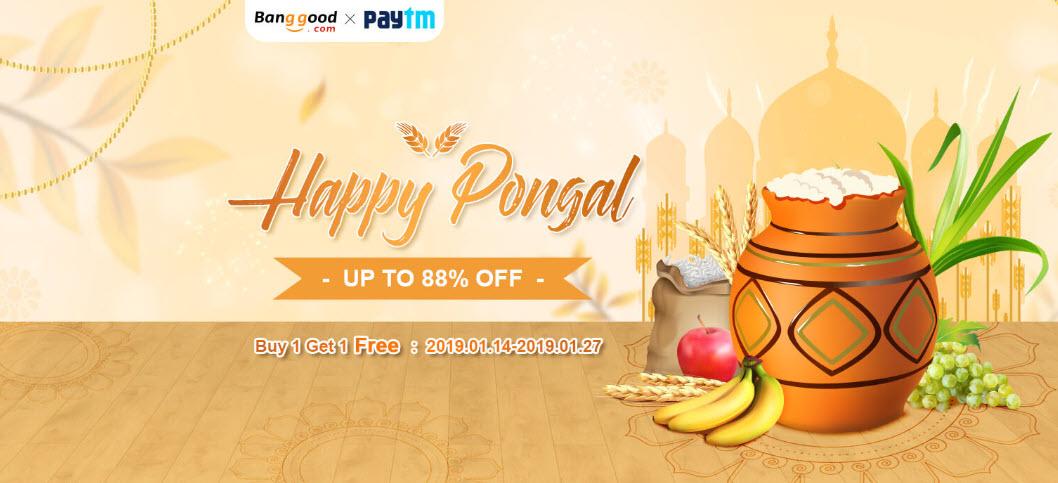 Banggood Happy Pongal