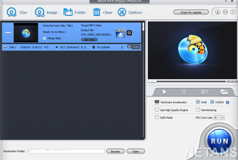WinX DVD Ripper Platinum Review: Excellent way to extract media from DVDs
